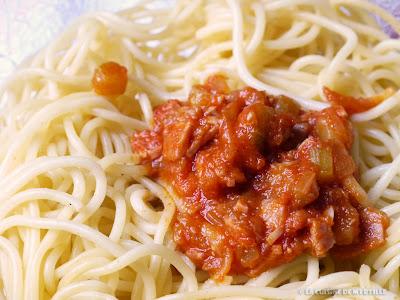Spaghettis bolognaise faciles (voir la recette)