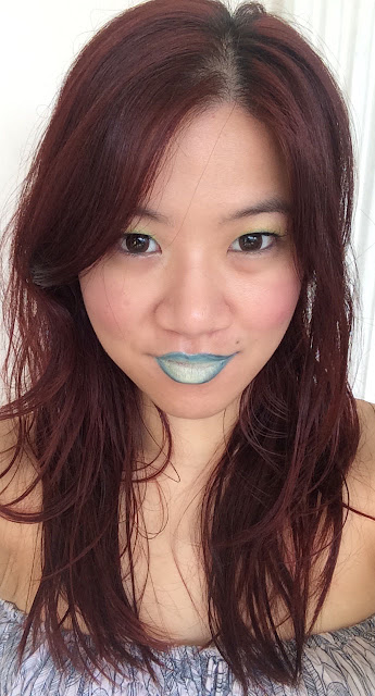 blue ombré lips