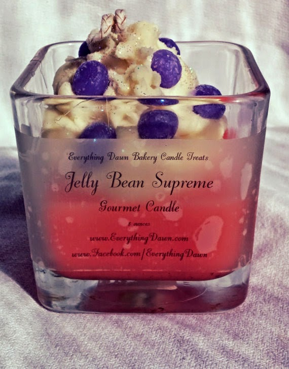 jelly bean supreme gourmet jar candle