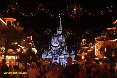 Christmas on Main Street Growing Up Disney