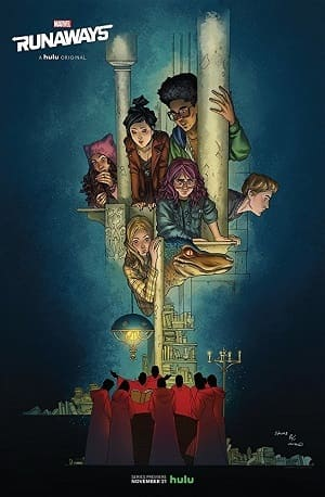 Fugitivos da Marvel - Runaways 1ª Temporada Séries Torrent Download capa