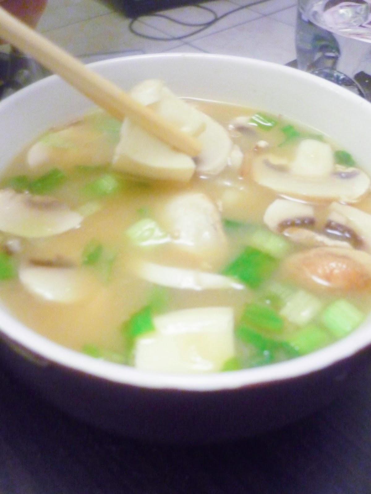 La bonne graille soupe miso - Soupe miso ingredient ...