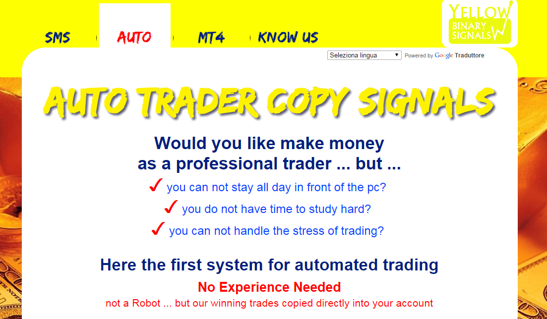 binary options signals facebook contemptible