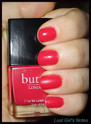 Butter London macbeth nail polish swatches and review