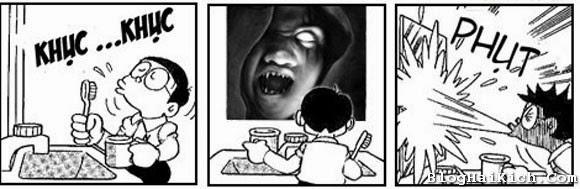 Doremon chơi Halloween