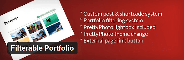 Filterable Portfolio plugin