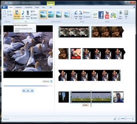 how to change resolution windows movie maker