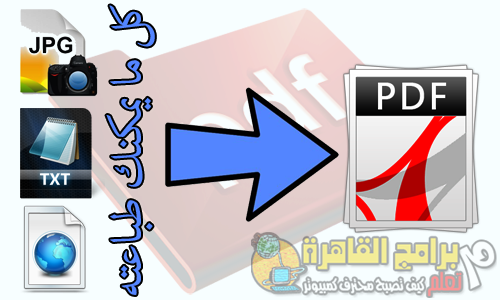 How To Make Book Pdf File From Images,Html,Word Files شرح كيفية إنشاء كتاب بى دى إف