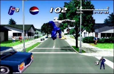Pepsi MAN Game1