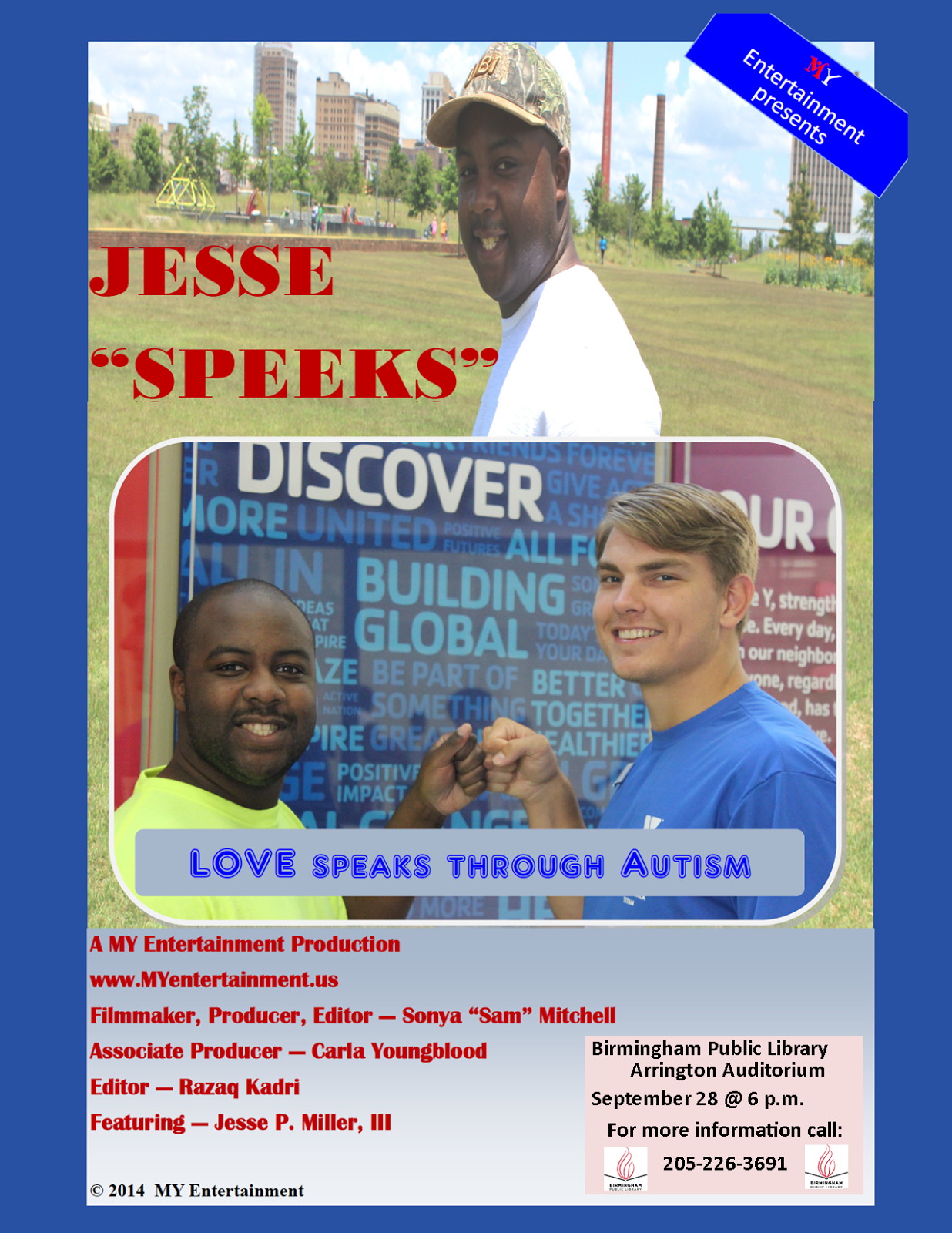 Jesse Speeks event poster