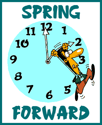Displaying (20) Gallery Images For Spring Forward Clock...