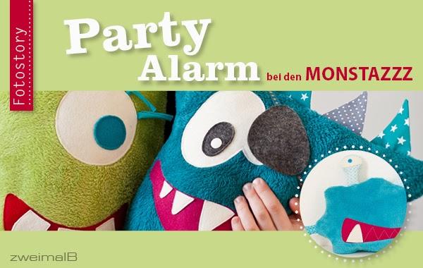 zweimalB :: Party-Alarm bei den Monstazzz :: Fotostory für den Großen Monstazzz Contest von aprilkind