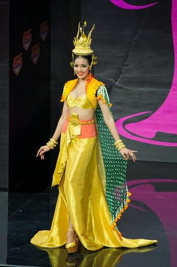 Miss Universe 2013 ชุดประจำชาติ ประเทศไทย