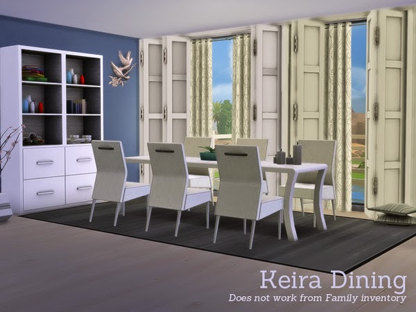My sims 4 blog angela 39 s keira dining for Sims 2 kitchen ideas
