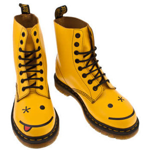 Yellow Dr Martens