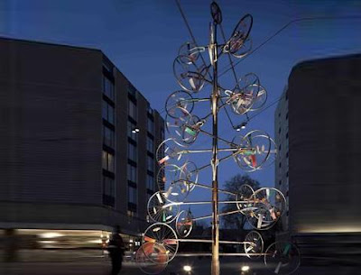 Bicycle wheel tree