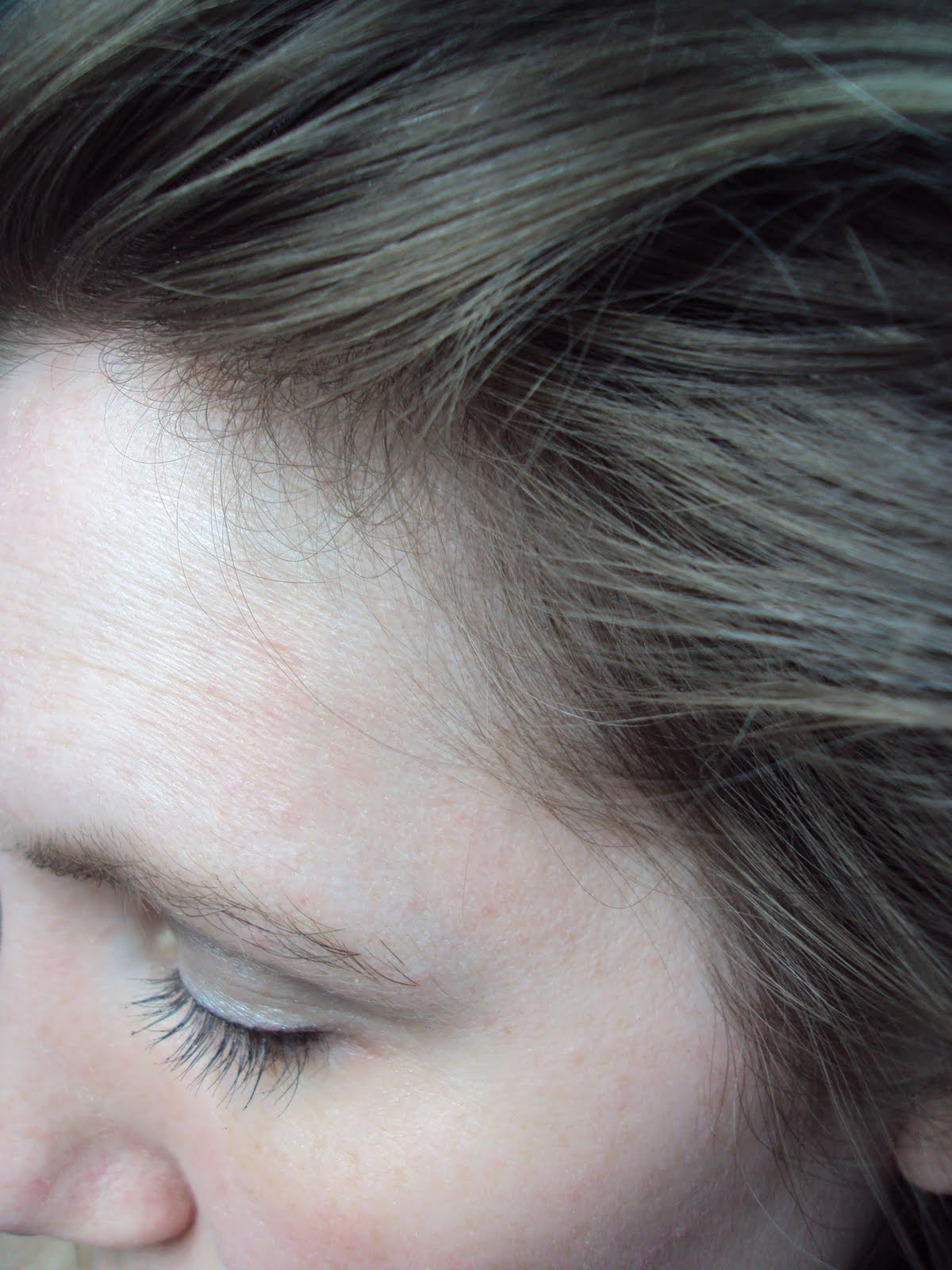 Desperately Seeking Beauty I Highlighted My Own Hair With