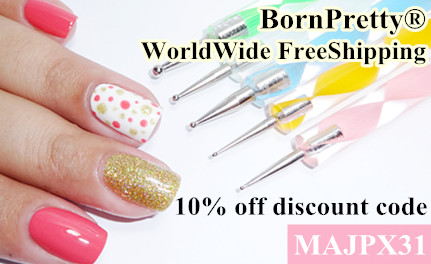 10% скидка Born Pretty Store по коду MAJPX31