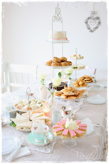 Shabby Romantic Cottage Tea Party