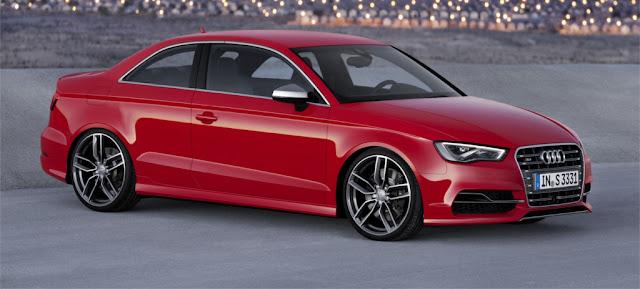 2014 Audi S3 Coupé Rendering
