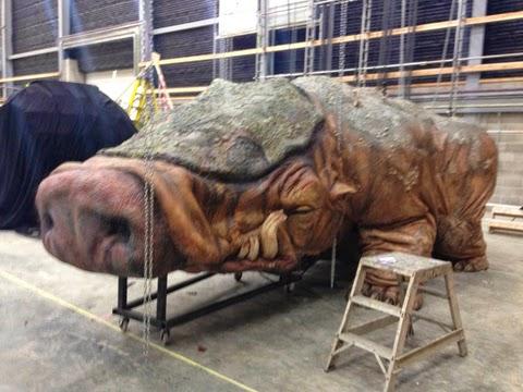 Cerdo gigante de Tatooine en Star Wars Ep. VII