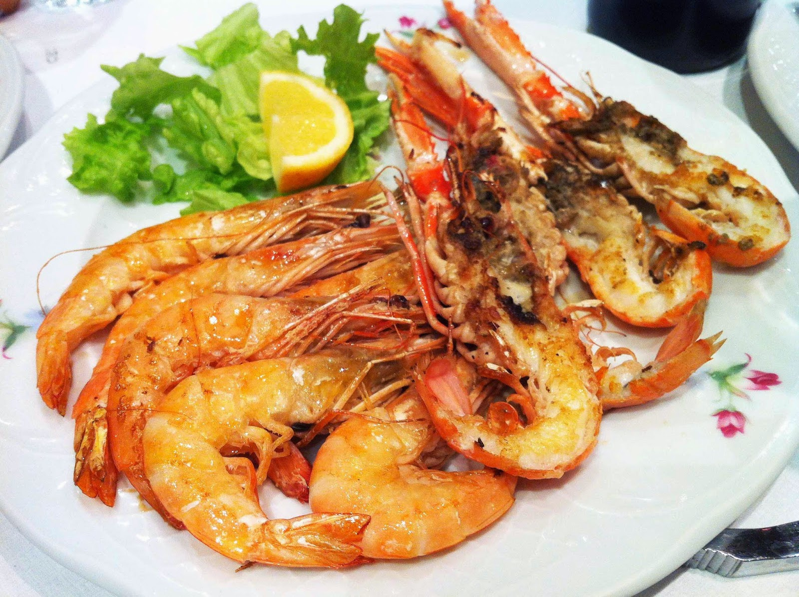 Restaurante-Oncalada-Bilbao-Cigalas-Langostinos