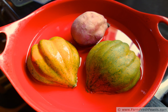 http://www.farmfreshfeasts.com/2013/01/acorn-squash-beet-and-sweet-potato.html