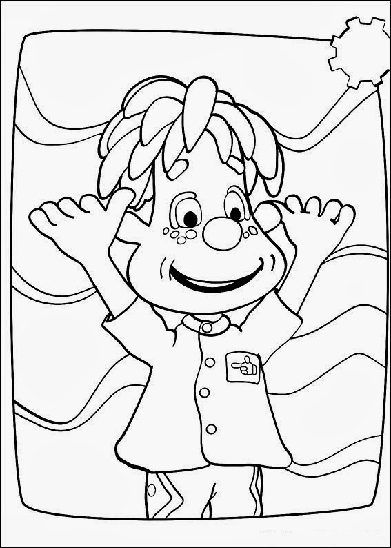 Fun Coloring Pages Engie Benjy
