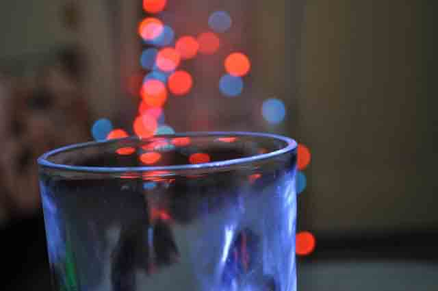 Bokeh Effect with glass