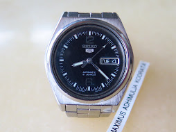 SEIKO 5 BLACK DIAL PART H - AUTOMATIC