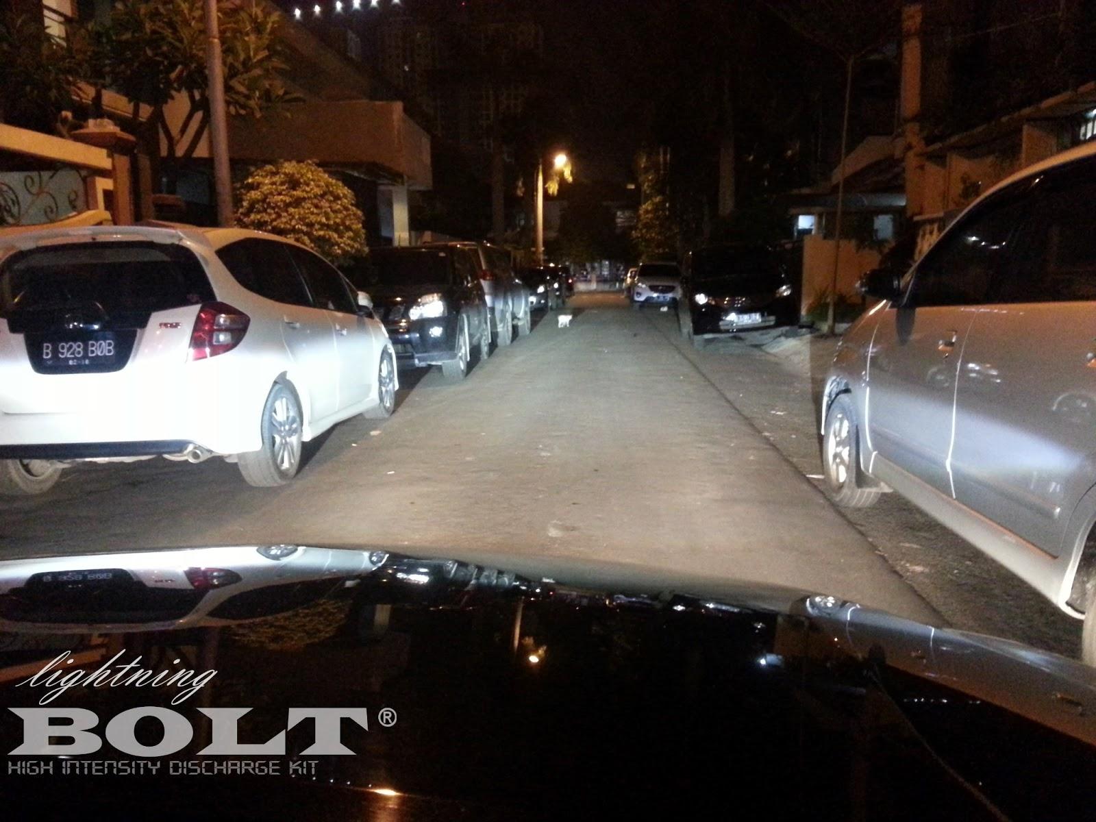 Lampu HID mobil Terbaik Lightning BOLT 4300k