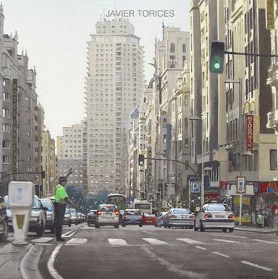 Paisajes Madrilenos Cuadros Urbanos Oleos Javier Torices