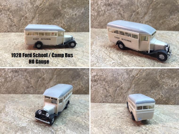 1928 Ford School Bus ~