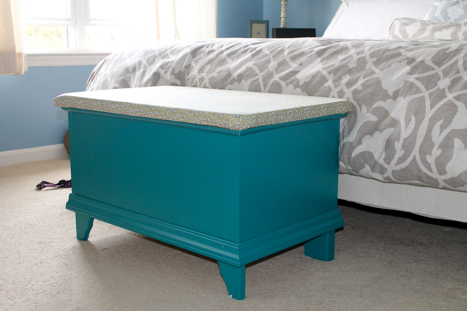Sadie Lady Ikea Hack Storage Bench