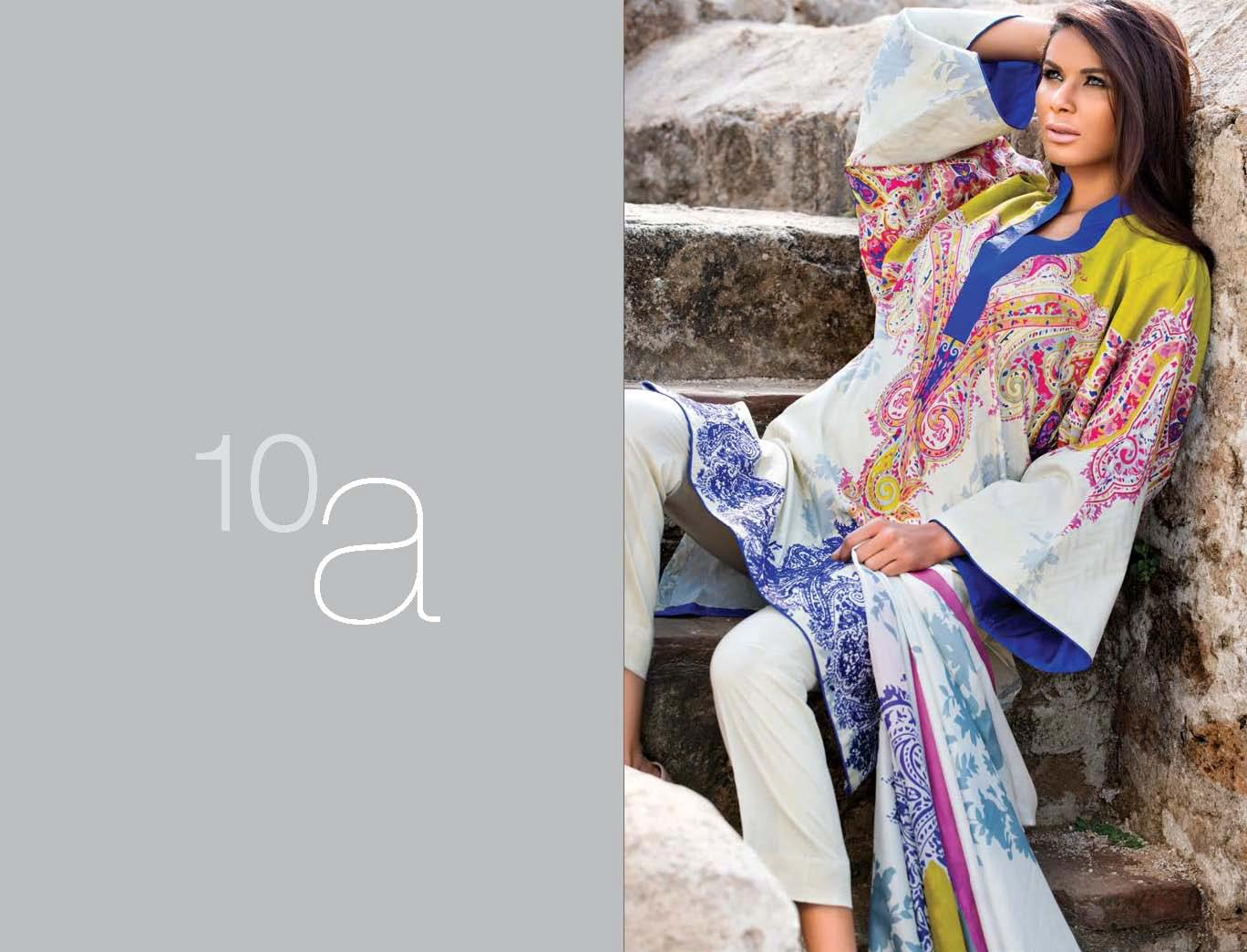 SanaSafinaz252812529 - Sana Safinaz Lawn Collection 2013