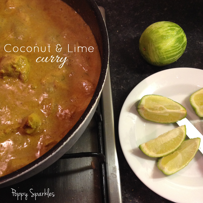Coconut and Lime Curry by Poppy Sparkles #recipes #curry #lowfodmap #dairyfree #glutenfree