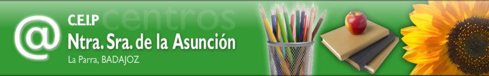 Página web del colegio de la Parra