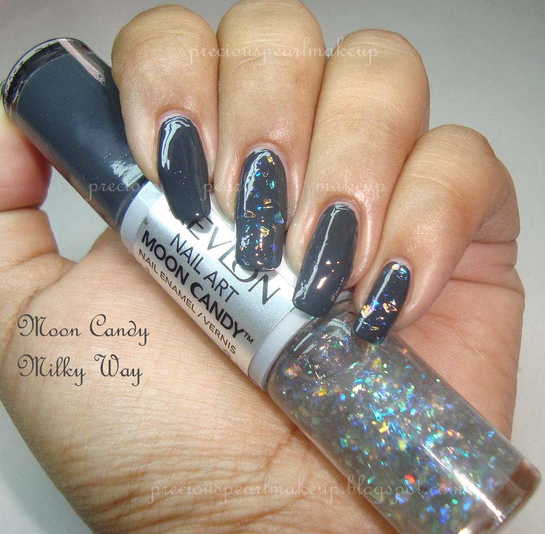 preciouspearlmakeup: Revlon Nail Art Moon Candy Nail Enamel
