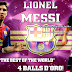 Start Screen Lionel Messi