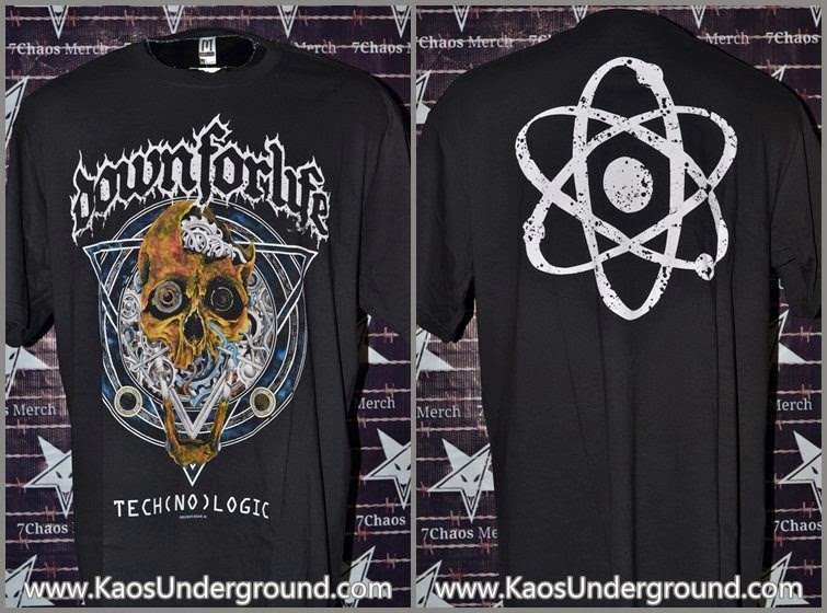kaos band solo down for life kaosunderground.com sevenchaosmerch merch cons