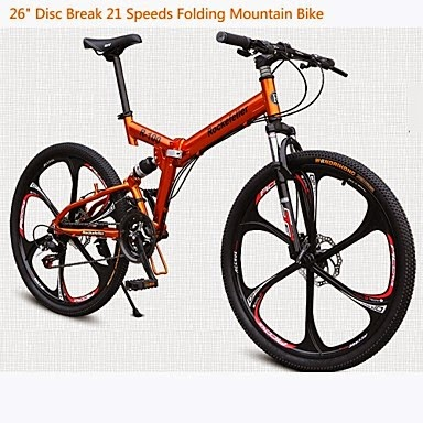 Bicicleta Mountain Bike Rockefeller Cycling 21 velocidades