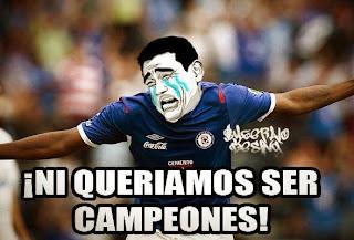 Ni queriamos ser campeones equipo de futbol cruz azul mexico