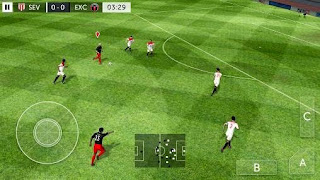 Screenshots of the First touch soccer 2015 for Android tablet, phone.
