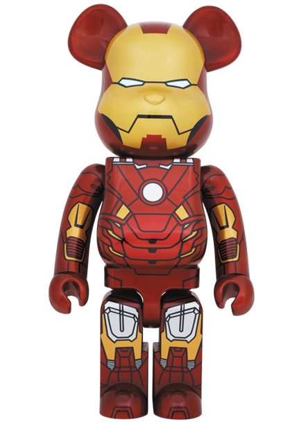 Marvel x Medicom Iron Man Mark VII 1000% Be@rbrick