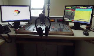 Estúdios da Rádio Mais FM do Gama DF