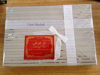 This Iranian sweet is also a popular entrée during the festive occasions, during when many confectioneries sell these nougats wrapped in gift boxes, as they make for ideal presents for relatives.