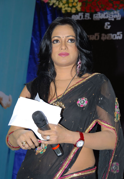 udaya bhanu saree photo gallery