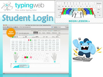 Typing Log-In