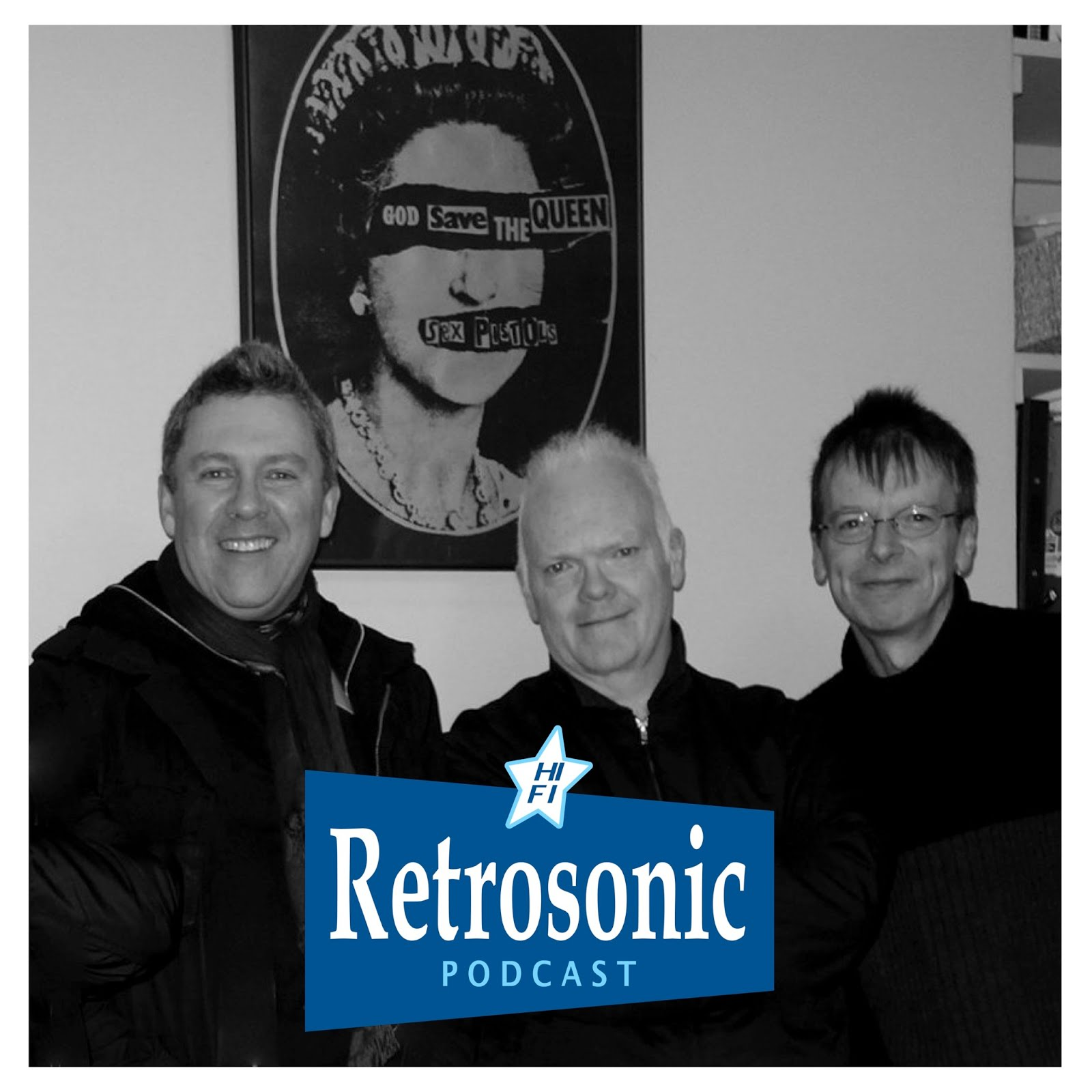 Retrosonic Podcast with The Everlasting Yeah (ex-That Petrol Emotion/Undertones)