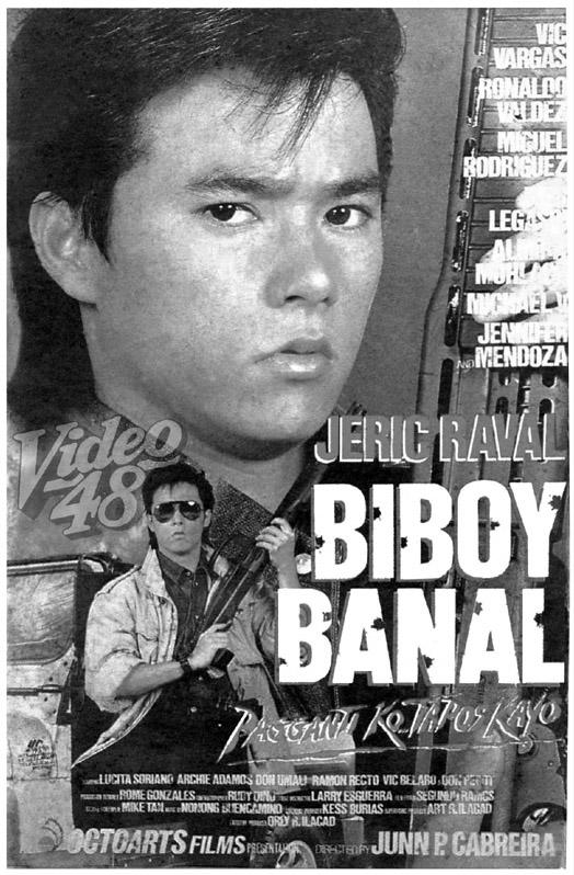 "Left: ""Biboy Banal: Pagganti Ko Tapos Kayo"" (1994)- Stars <b>Jeric Raval</b>, ... - biboy%2Bbanal94-jeric%2Braval-sf"